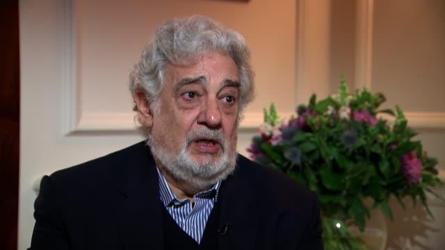 Placido Domingo to perform in revival of Verdi's Nabucco Domingo and reporter Domingo interview SOT Domingo and reporter