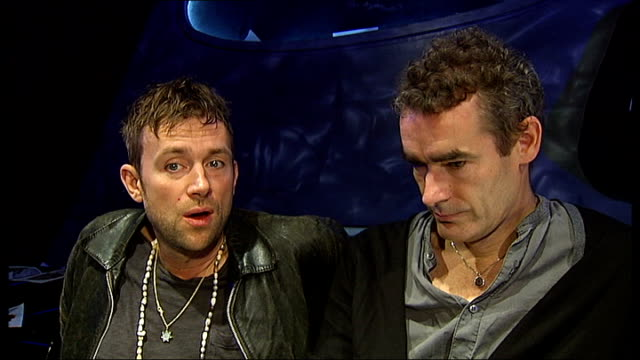 'Undress for Opera' scheme backed by Damon Albarn Damon Albarn interview SOT