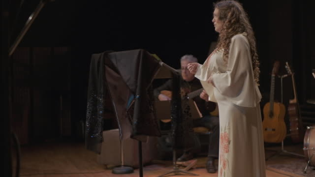 opera singer performing on the stage - opera stock videos & royalty-free footage