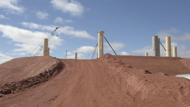 operating gold mine in leonora western australia australia on sunday august 5 2018 - mining stock videos & royalty-free footage