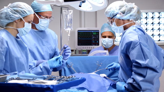 operating room - anaesthetist stock videos & royalty-free footage