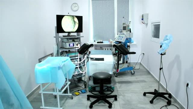 stockvideo's en b-roll-footage met operatiekamer met medische apparatuur. - kunstmatige inseminatie