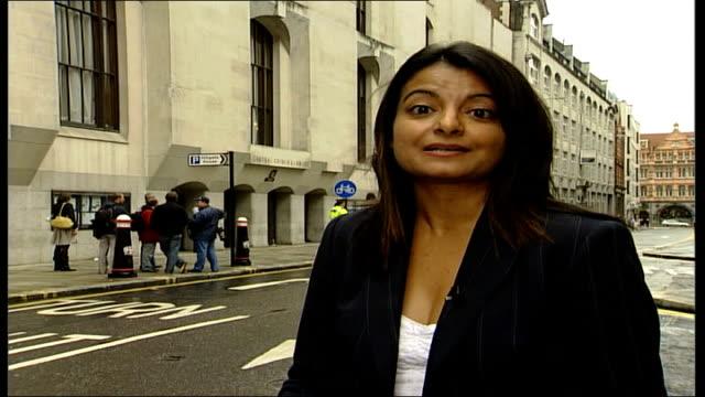 vídeos y material grabado en eventos de stock de operation crevice trial: anthony garcia evidence; reporter to camera - crevice