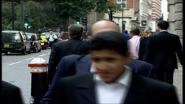 omar khyam evidence england london defence counsel joel bannathan qc arriving at court - crevice stock videos and b-roll footage