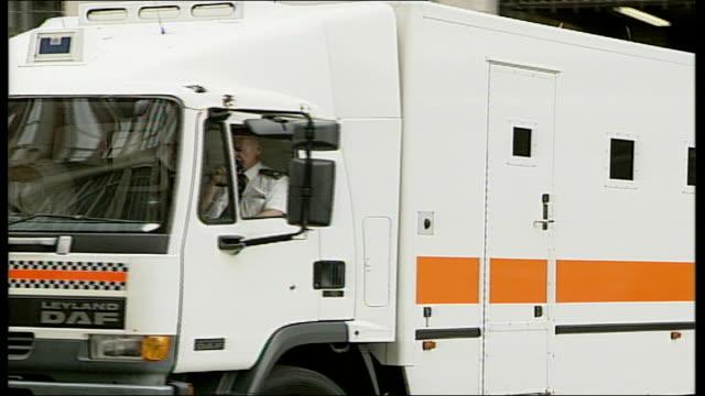 omar khyam evidence england london prison van away - crevice stock videos and b-roll footage