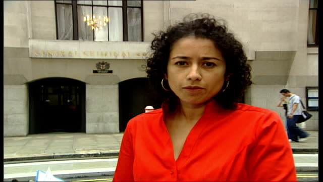 Omar Khyam tells court he was happy about 9/11 London Old Bailey EXT Reporter to camera