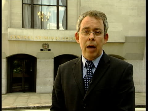 Suspected Al Qaida cell London Old Bailey Reporter to camera