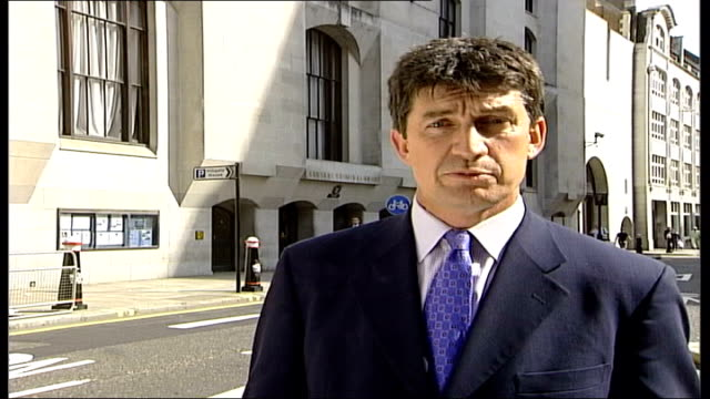 tape recording heard in court london old bailey reporter to camera - crevice stock videos & royalty-free footage