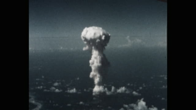 operation crossroads bikini atoll pacific ocean - weapons of mass destruction stock videos & royalty-free footage