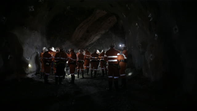 operations at kirkland lake gold ltd fosterville gold mine in bendigo victoria australia on friday august 9 2019 as prices soar production in the... - mining stock videos & royalty-free footage
