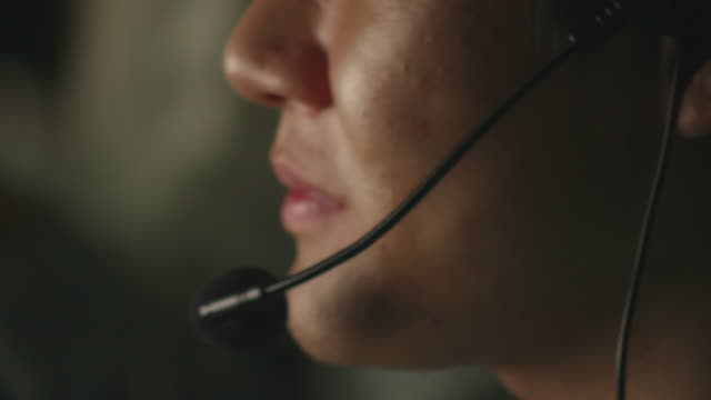 operator working at night - call center stock videos & royalty-free footage