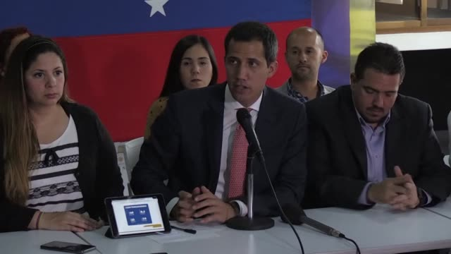 opposition leader juan guaido says that funds allegedly embezzled by his delegates to help military deserters in colombia corresponded to private... - military private stock videos & royalty-free footage