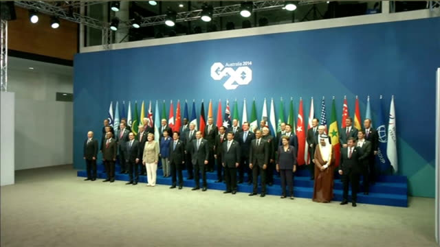 opposition politician garry kasparov interview t15111423 brisbane putin joining the g20 leaders for family photograph at summit meeting - john w. snow politician stock videos and b-roll footage