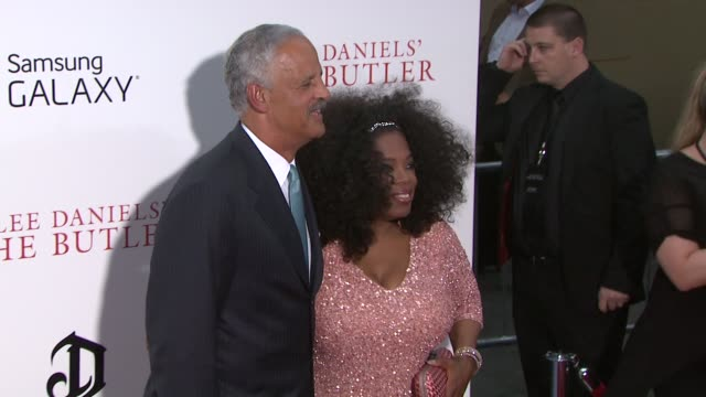 oprah winfrey and stedman graham at 'the butler' new york premiere in new york ny on 8/5/13 - oprah winfrey stock videos & royalty-free footage