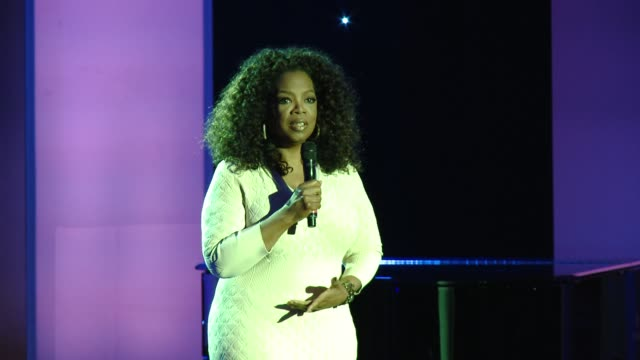 speech oprah winfrey at 8th annual essence black women in hollywood luncheon in los angeles ca - oprah winfrey stock videos & royalty-free footage