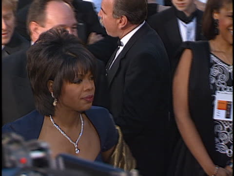 Oprah Winfrey at the Academy Awards at Shrine Auditorium