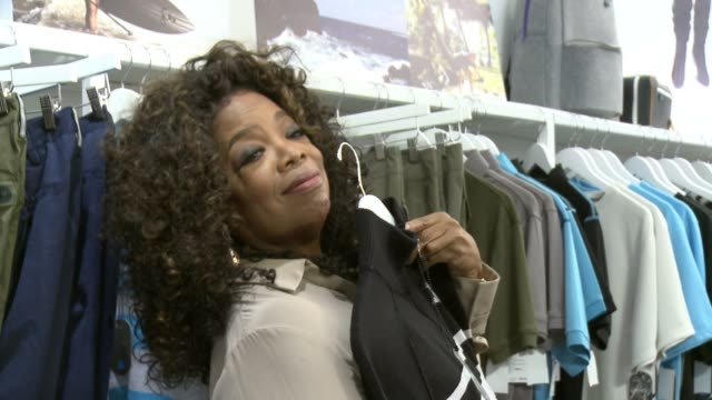 oprah winfrey at the laird hamilton launches laird apparel at ron robinson on october 22 2015 in santa monica california - oprah winfrey stock videos & royalty-free footage