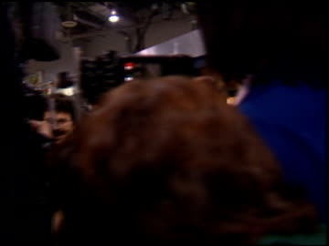stockvideo's en b-roll-footage met oprah winfrey at the natpe convention on january 25, 1995. - natpe convention
