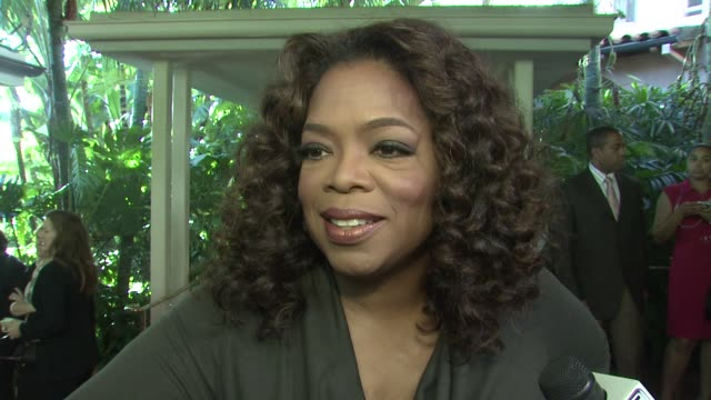 oprah winfrey on what it means to be honored what it takes to be a powerful woman in the entertainment business at the hollywood reporter's annual... - oprah winfrey stock videos & royalty-free footage