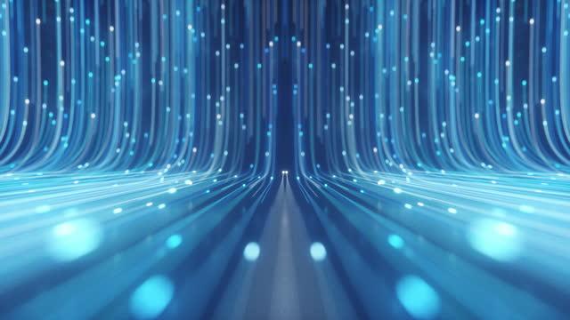 vidéos et rushes de fibre optique - évolution de l'espèce