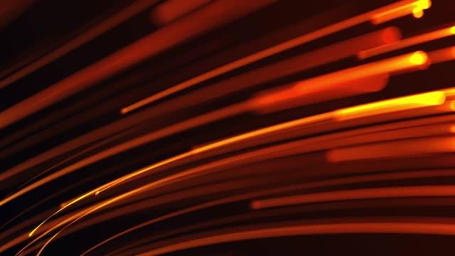 4k optische leuchten und datenanimation - vorhersagen stock-videos und b-roll-filmmaterial