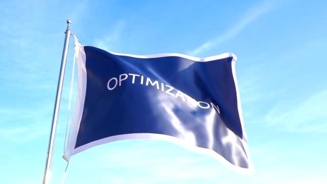 optimization flag - improvement stock videos & royalty-free footage