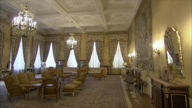 WS PAN Opulent room in Saadabad Palace, Tehran, Iran