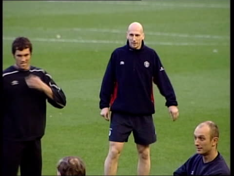 or lib slow motion jaap stam in training - autobiography stock videos & royalty-free footage