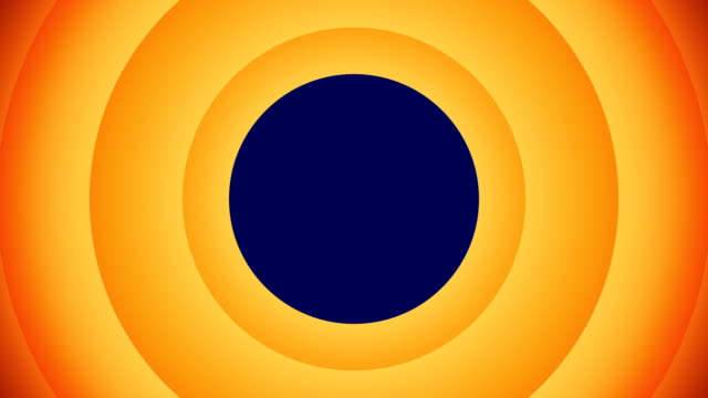 orange animated circular shapes with blue screen that will allow you to add any image or video. - blue background stock videos & royalty-free footage
