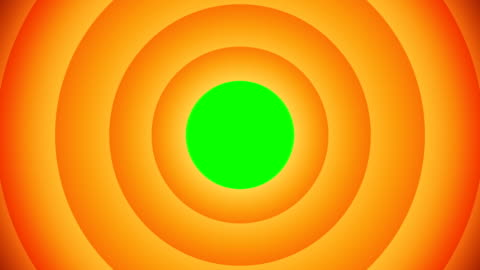 orange animated circular shapes with green screen that will allow you to add any image or video. - vortex stock videos & royalty-free footage