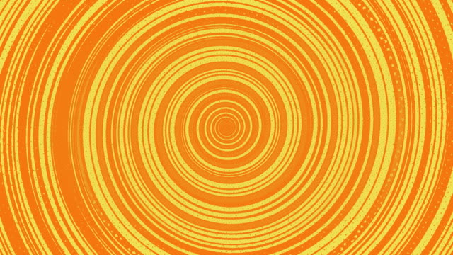 orange circular halftoned abstrakte endlosschleife - digitale verbesserung stock-videos und b-roll-filmmaterial