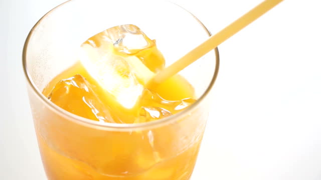 orange juice refreshing - orange juice stock videos & royalty-free footage