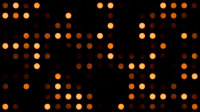 vídeos y material grabado en eventos de stock de monotone puntos de fondo de color naranja - diseño natural