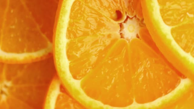 orange slices - raw food diet stock videos & royalty-free footage