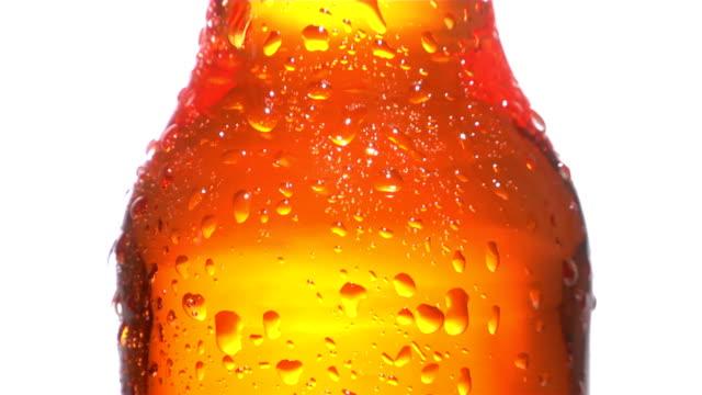 Orange Soda Bottle Dripping