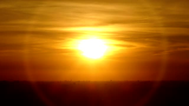 orange sunset - west direction stock videos & royalty-free footage