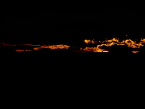 オレンジの夕日  - 撮影機材点の映像素材/bロール