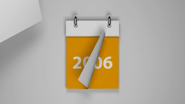 orange turning calendar from year 2000 to 2020 - 2020 business stock videos and b-roll footage