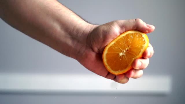 orange - squeezing stock videos & royalty-free footage