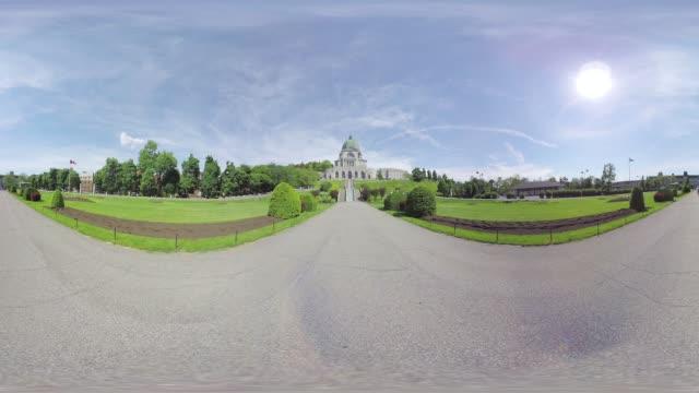 vidéos et rushes de oratory montreal - panoramique