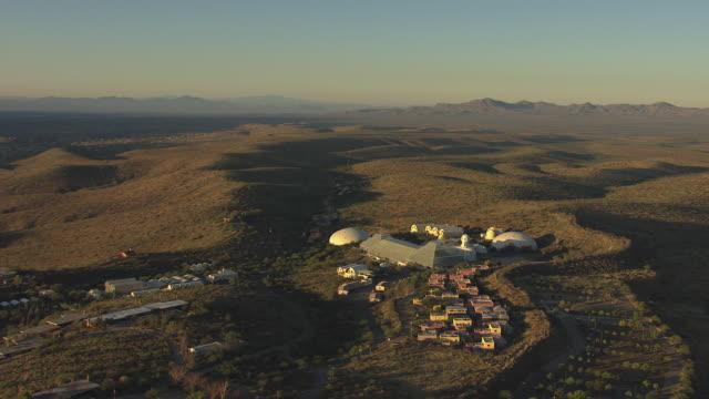 WS AERIAL Orbit Biosphere II / Tucson, Arizona, United States