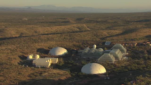 WS AERIAL DS Orbit Biosphere II / Tucson, Arizona, United States