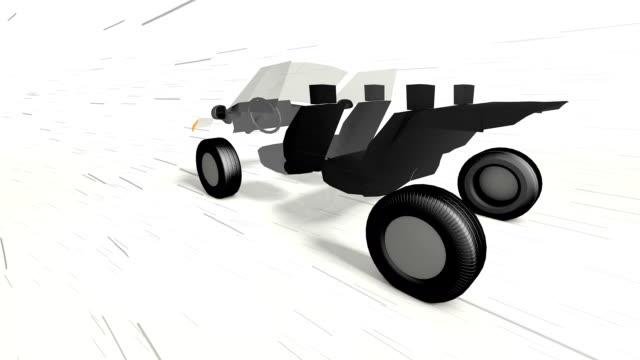 眼窩ランニング車 - 自動車部品点の映像素材/bロール