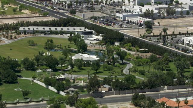 orbital shot of casa de shenandoah in las vegas - wayne newton stock videos & royalty-free footage