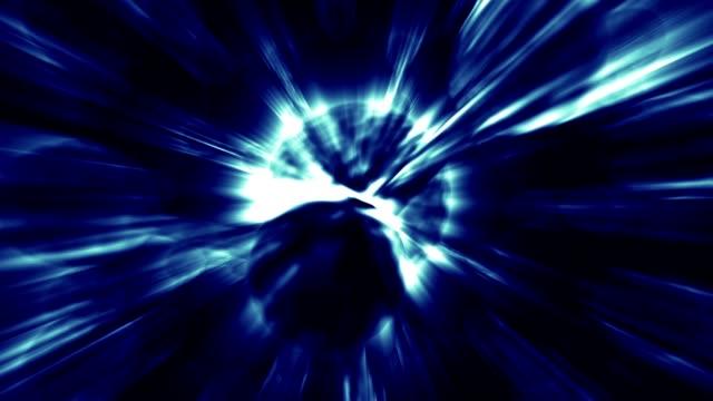 vídeos de stock e filmes b-roll de orbitar os átomos - estrutura da célula