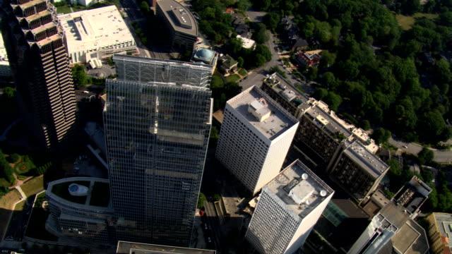 Orbiting Midtown Atlanta, Georgia. Shot in 2007.