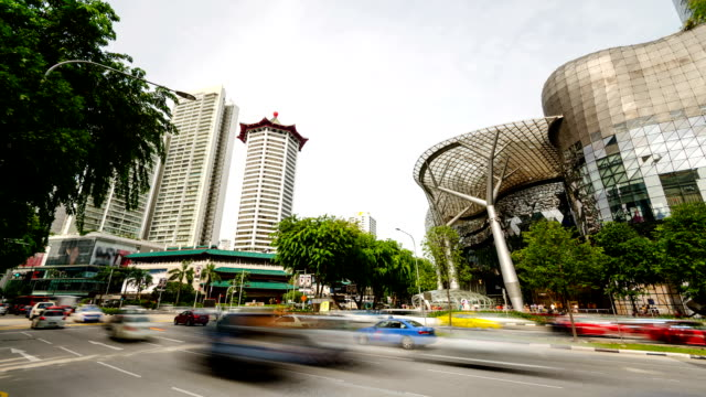 orchard road, singapore. - orchard stock videos and b-roll footage