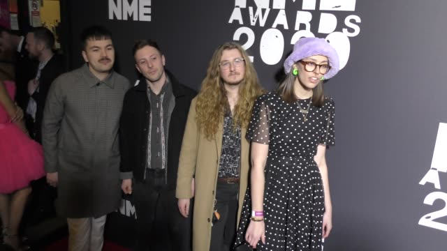 orchards at the nme awards at o2 academy brixton on february 12 2020 in london england - orchard stock videos & royalty-free footage