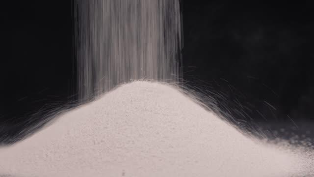 ore - super slow motion studio shot - talcum powder stock videos & royalty-free footage