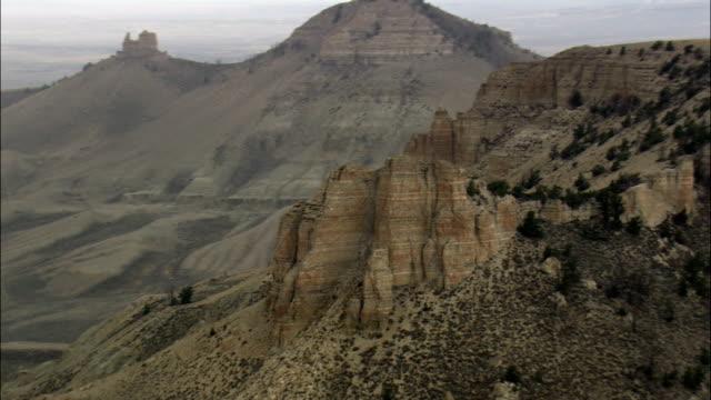 Oregon Butte, Wyoming-Vista aérea-Wyoming, Condado de Lincoln, Estados Unidos